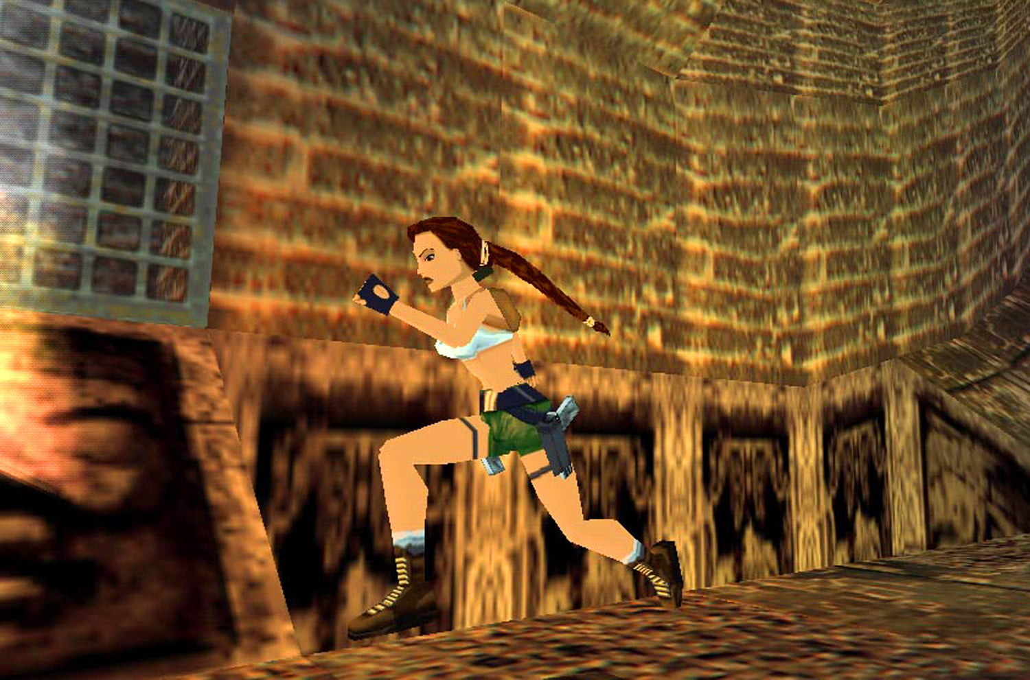 Check Out the First Ever Tomb Raider Game